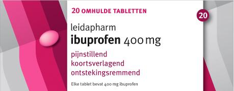 ibuprofen 400 mg 20 tabletten leidapharm 20 tabletten. Black Bedroom Furniture Sets. Home Design Ideas